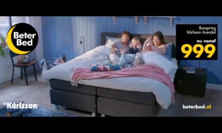 Nieuwe campagne voor Beter Bed