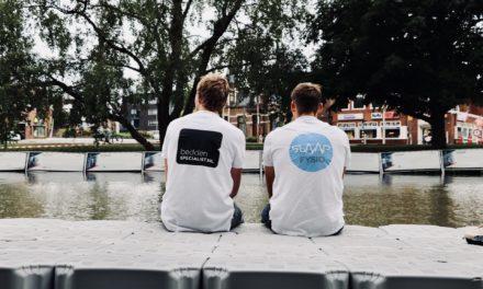 SlaapFysio en Beddenspecialist.nl helpen Maarten van der Weijden bij 11-stedenzwemtocht