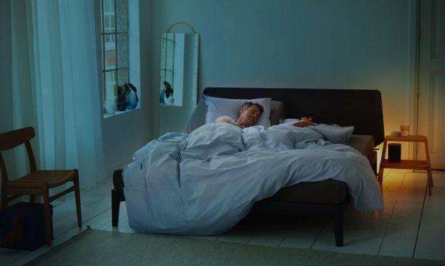 Auping introduceert slim bed met anti-snurkfunctie