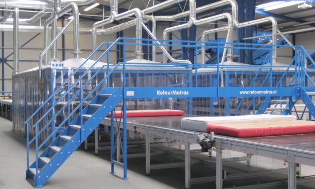 RetourMatras: Capaciteit matrasrecycling omhoog door samenwerking IKEA en Renewi