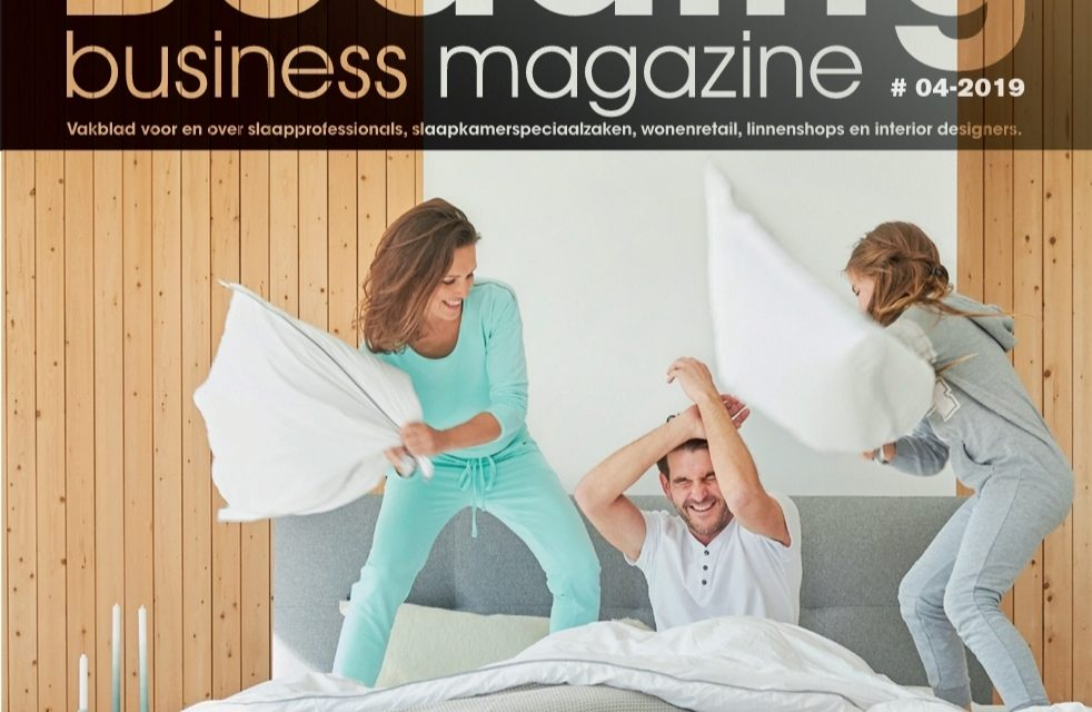 PRIMEURS & NOVITEITEN in nieuwste beurseditie Bedding Business Magazine
