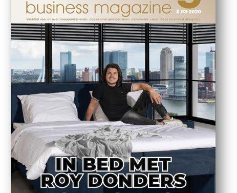 De nieuwe editie Bedding Business Magazine is verstuurd.