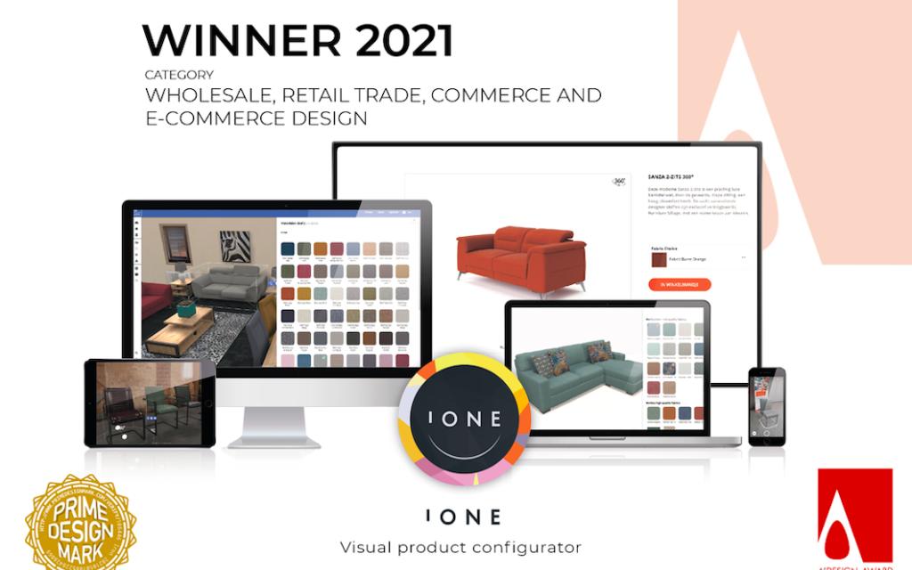 Colijn wint A'Design Award voor online product configurator
